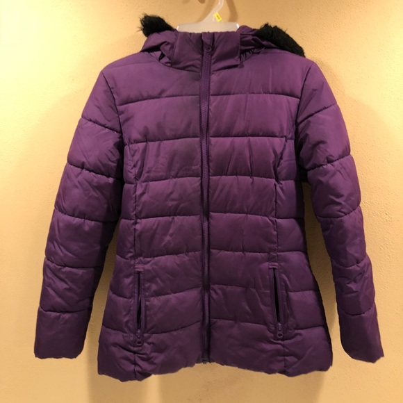delicate colors provide plenty of most reliable Girls puffer jacket